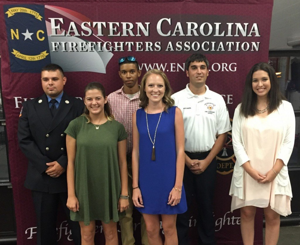 Pictured are (L-R) Jesse Colosimo, Hannah Hedgepeth, Marcus Walton, Briana Brantly, Shaun Hayes and Sam Tanck.